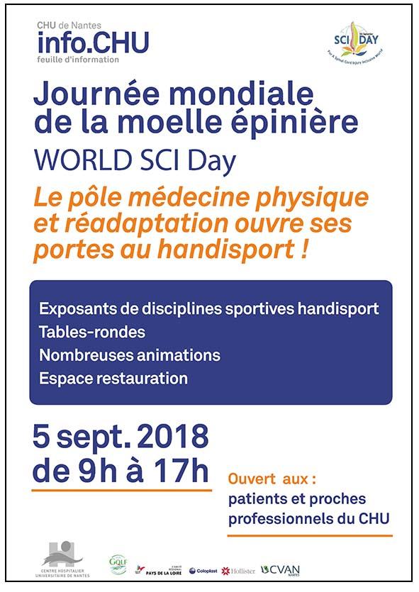 Journée mondiale de la moelle épinière : une première à Nantes ! - ASTA Nantes